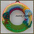 The <b>serial</b> <b>crocheteuse</b> N° 149 les couleurs de l'arc en ciel