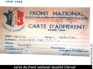 carte front national de la résistance