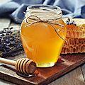 Traitement au miel, <b>bouton</b> de fièvre