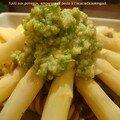 <b>Pesto</b> vert à l'accacia