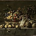 Attributed to Frans Snyders (Flemish, 1579–1657), Vegetables and <b>a</b> Basket of Fruit on <b>a</b> <b>Table</b>