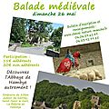 Balade mdivale et visite de l'<b>Abbaye</b> de Hambye !