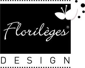 logo_florilèges noir + papillon