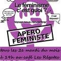 Apéros <b>féministes</b> mensuels 2015