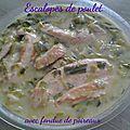 Escalopes