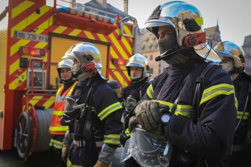 Pompiers intervention
