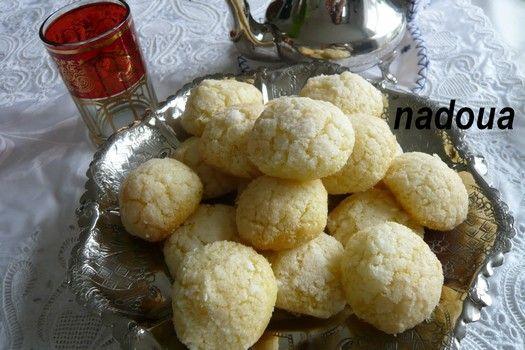Gateaux a la noix de coco arabe