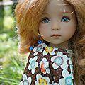 Cécila , little darling moule 1 de Géri Uribe et <b>tenue</b> japonaise !