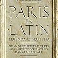 Paris en latin, Laurence Gauthier, Jacqueline Zorlu