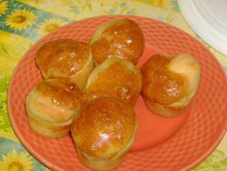 recettes dessert  BRIOCHE(ttes) AU NUTELLA