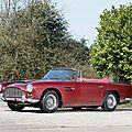 Bonhams <b>Aston</b> <b>Martin</b> sale offers Peter Ustinov's rare 1962 <b>Aston</b> <b>Martin</b> DB4 Series IV