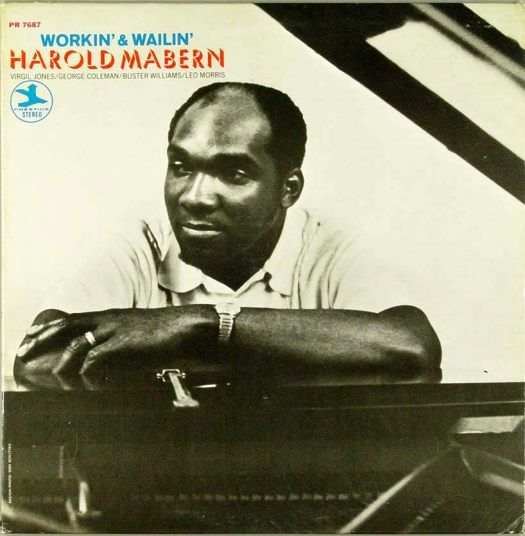 harold mabern - workin' and wailin' (sleeve art)