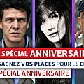 Pascal Obispo au concert VIP anniversaire de RFM le 10 Juin 
