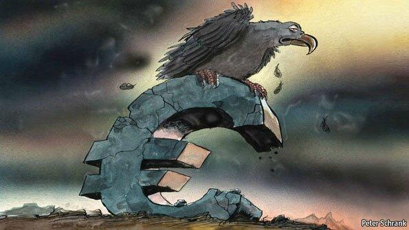 UE Euro vautour