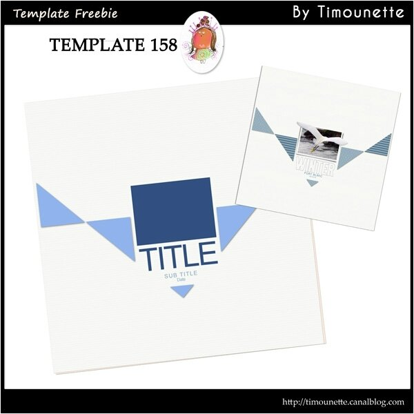 Template 158 Freebie by Timounette