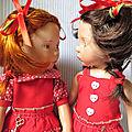 Nous revoilà : les jumelles Zwergnase en robe d'été !