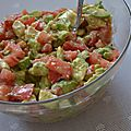 Ma Salade d'Avocats spéciale Barbecue