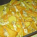 Gratin de pommes de terre et rutabaga
