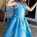 Robe de princesse pour Mathilde