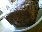 recettes  Cake pommes, pruneaux et canelle