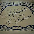 ALPHABETS ET <b>FESTONS</b> ALBUM N° 1-2-3 COLLECTION RECKO
