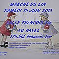 March du Lin du <b>Havre</b> (76) - Salle Franois 1er - 15 juin 2013