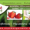 Faire son marché à l'Expo Manger Santé?