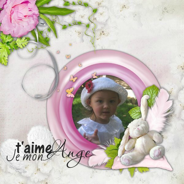 petit ange- flomelle- rak photo Stephy Scrap