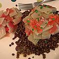 Salade de <b>bettes</b>, tomates et lentilles - végétalien