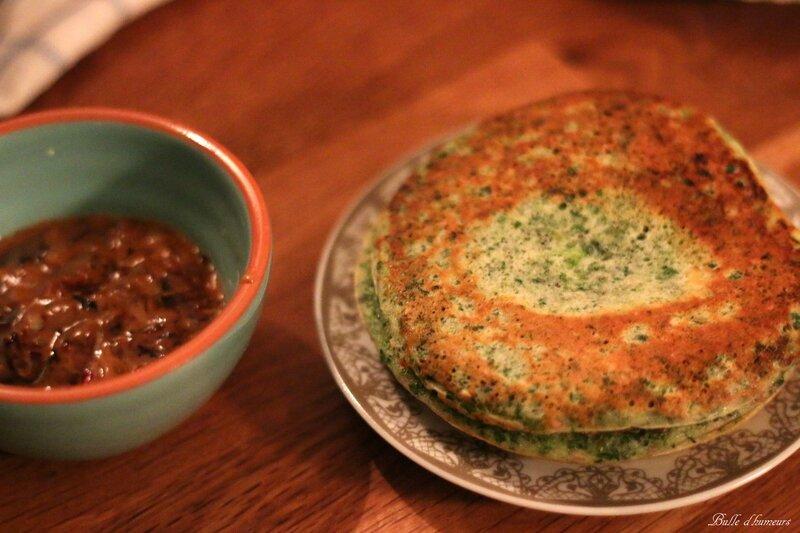 #1 pancakes au persil