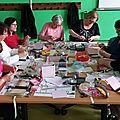 Atelier carterie avec l'association Le Havre contre le cancer - <b>Mini</b> <b>album</b>
