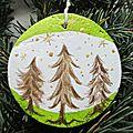 ✰ P'tite forêt de sapins pour Noël !