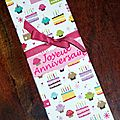 Carte d'<b>anniversaire</b> Tata Dolly