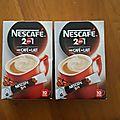 Ambassadrice Nescafé - Café au lait 2 en 1