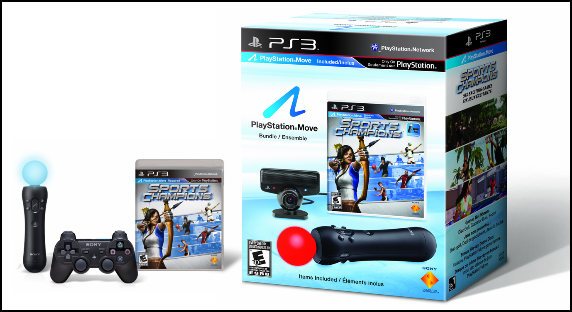 PS3 Pack PlayStation Move