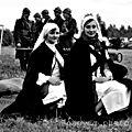 infirmières sur les champs de bataille à coudekerque