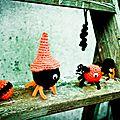 Petits <b>monstres</b> d'Halloween