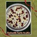 Fantastik <b>tarte</b> fruitée : financier framboises crémeux de lemon curd meringues chantilly mascarpone