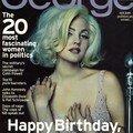 <b>Drew</b> <b>Barrymore</b> pose en Marilyn