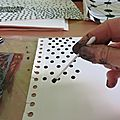 Papiers à motifs pour collages / Paper with <b>patterns</b> for collages (1)