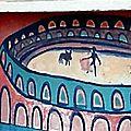 L'Alliance anticorrida demande le retrait d'une fresque dans une école de Nîmes !