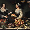 Analyse du tableau Marchande de fruits et légumes (Louise Moillon, 1630)