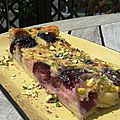 Cerises sur le <b>clafoutis</b>/Little work, lots of yumminess : Cherry <b>clafoutis</b> for dessert !