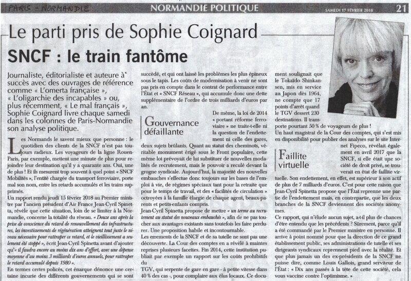 La Normandie naura pas de TGV… TANT MIEUX!