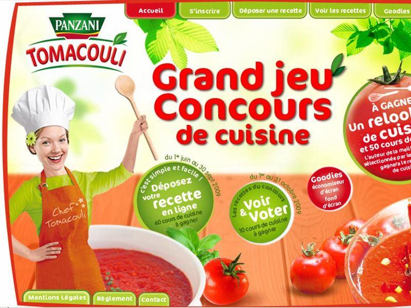 Concours de recettes tomacouli ma p 39 tite cuisine - Jeu concours cuisine ...