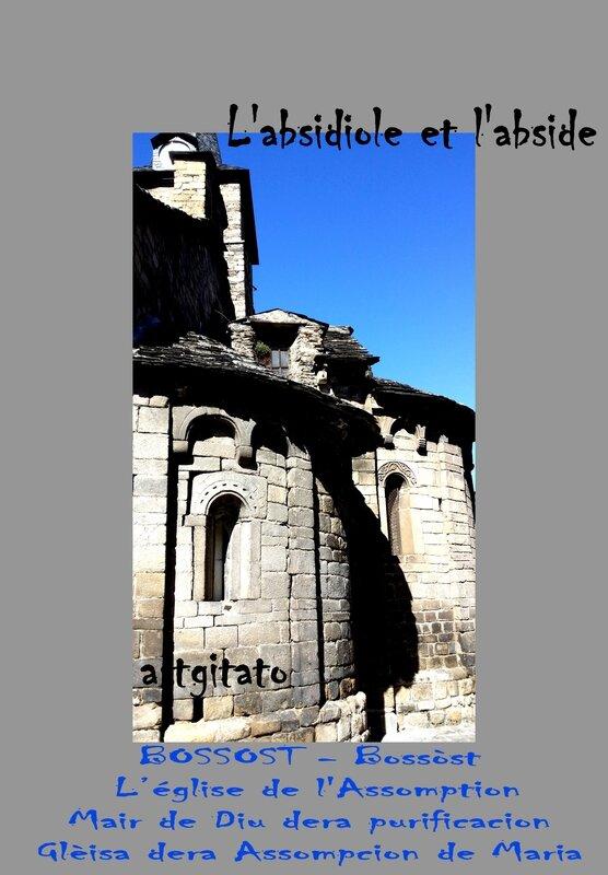 Bossost - Bossòst Eglise de L'Assomption Mair de Dieu Gleisa dera Assompcion de Maria Artgitato 2