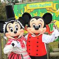 St David's <b>Welsh</b> Festival - Mickey & Minnie join the party!