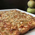 Gâteau d'automne aux pommes et à la farine de chataîgne