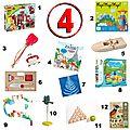 Idées cadeaux pour un enfant de 4 ans