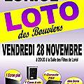 Grand loto des <b>Bouviers</b> : venez tentez votre chance !